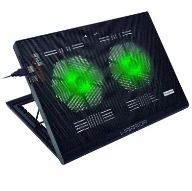 Base Refrigerada para Notebook com LED até 17 Polegadas AC267 Warrior