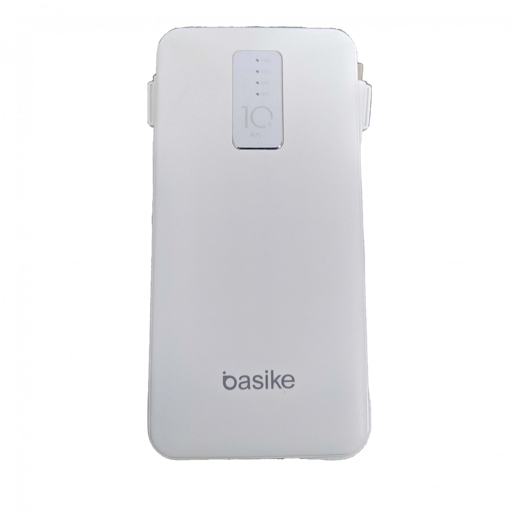 Bateria Power Bank 10000mAh Iphone Android Tipo C Ba-POW0001 Basike