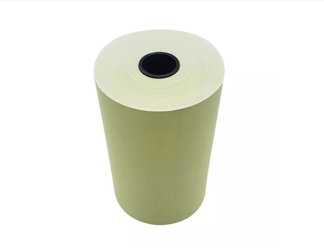Bobina Amarela para Impressora Fiscal 80mmx40m