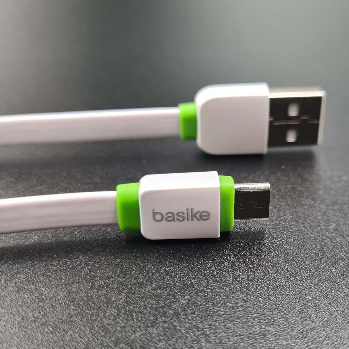 Cabo carregador rápido Celular USB V8 2.4A com 30cm