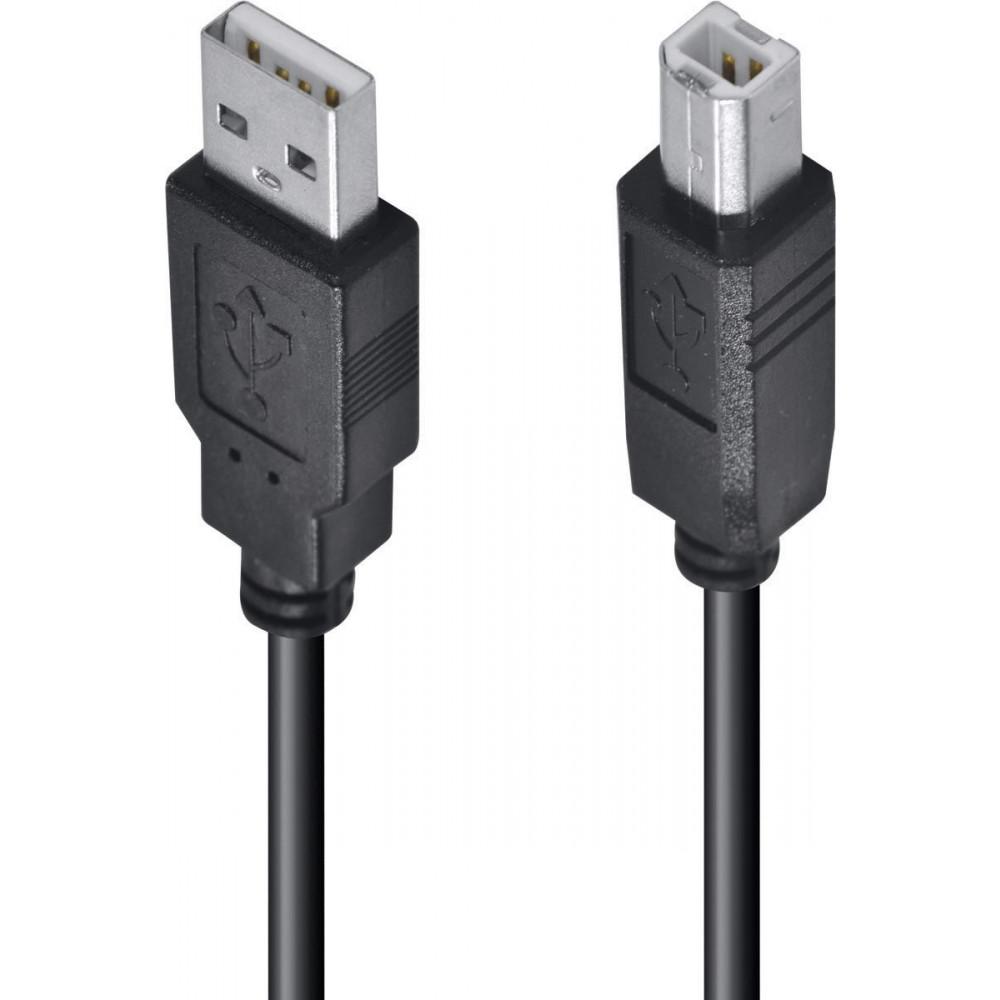 Cabo USB 2.0 2 metros para impressora e multifuncional