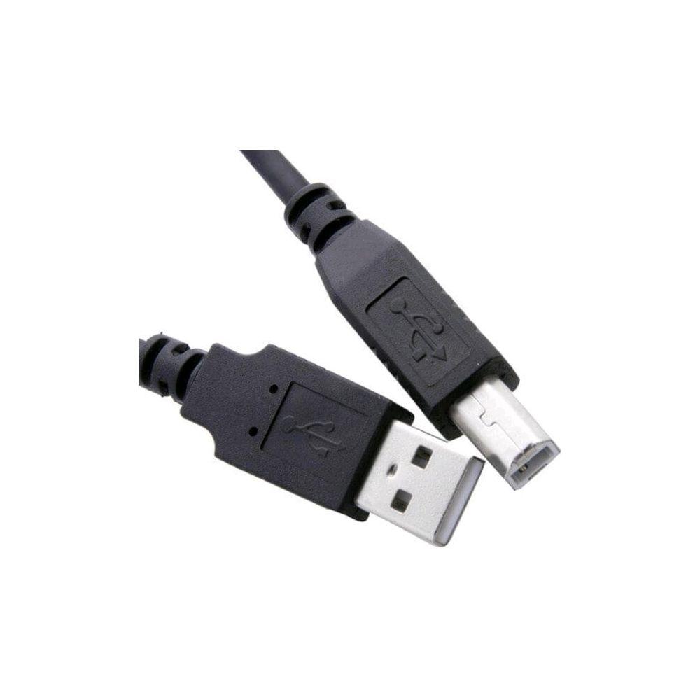 Cabo USB 2.0 3 metros para impressora e multifuncional  Pluscable PC-USB3001