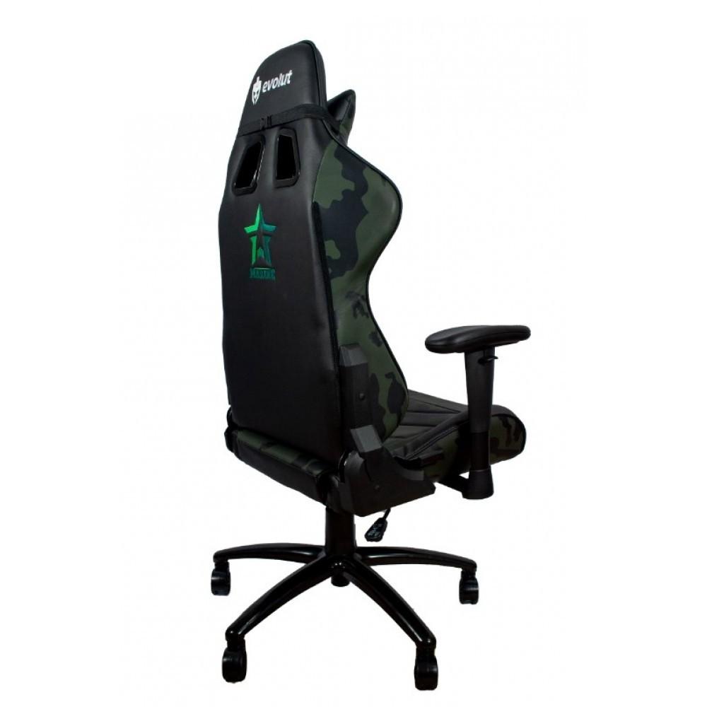 Cadeira Gamer Reclinável Marine Camuflada EG-950 Evolut