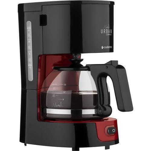 Cafeteira Elétrica Urban Compact Cadence vermelha 127V CAF300