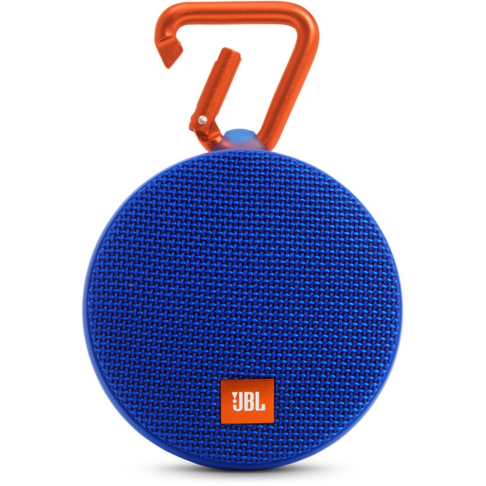 Caixa de som Bluetooth JBL Clip 2 A Prova DAgua 8 Horas de Bateria Azul