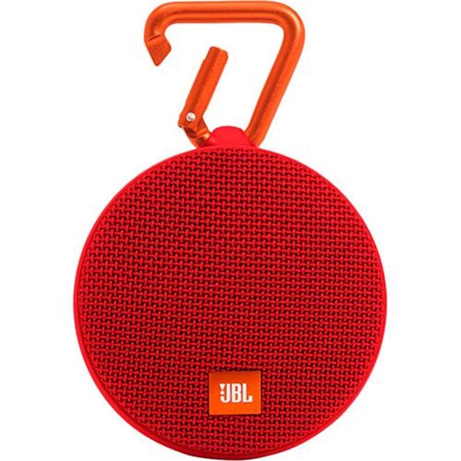 Caixa de som Bluetooth JBL Clip 2 A Prova DAgua 8 Horas de Bateria Vermelha