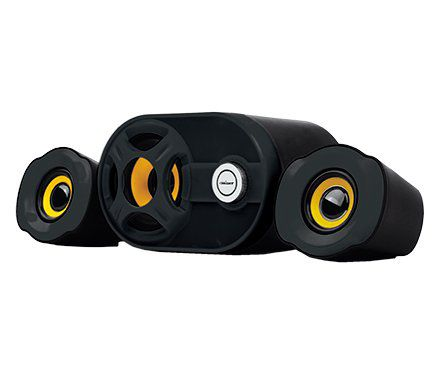 Caixa de Som Mini Subwoofer 2.1 USB Bright 0445