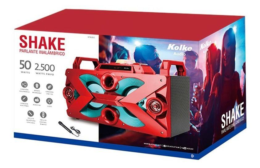 Caixa de Som Portátil com bluetooth KPM202
