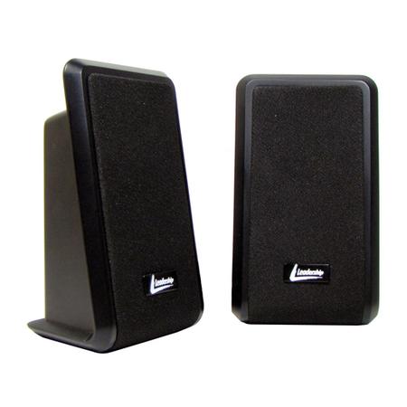 Caixa de Som USB Black 2.0 Leadership 7656