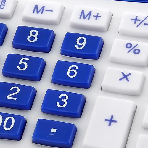 Calculadora 12 dígitos Azul Elgin MV4125