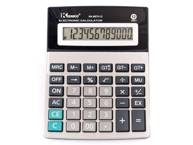 Calculadora 12 digitos KK-8875-12 Kenko