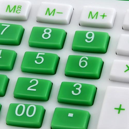 Calculadora 12 dígitos Verde Elgin MV4126