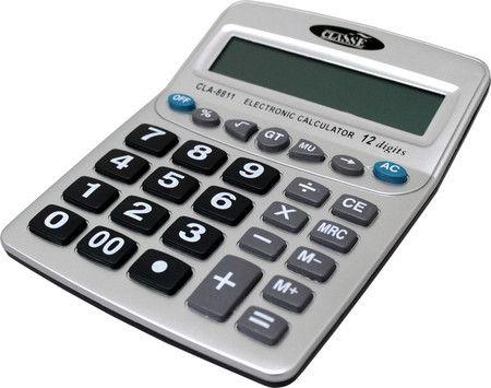 Calculadora de mesa Classe CLA-8811 12 dígitos