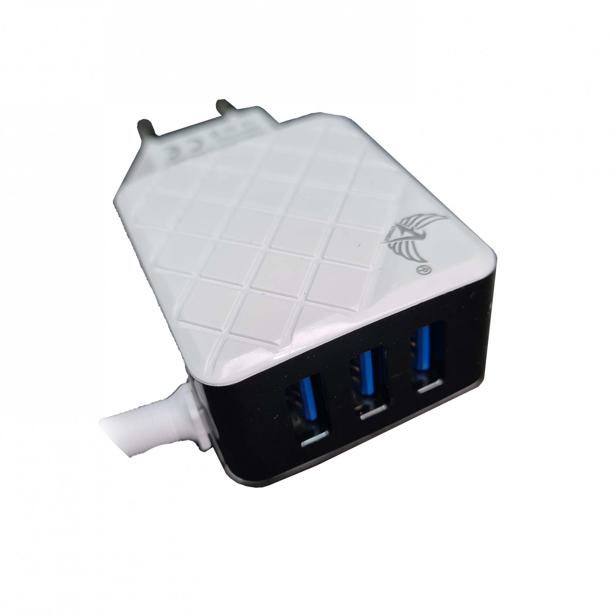 Carregador Celular de parede Iphone 5.8A Rápido Bivolt