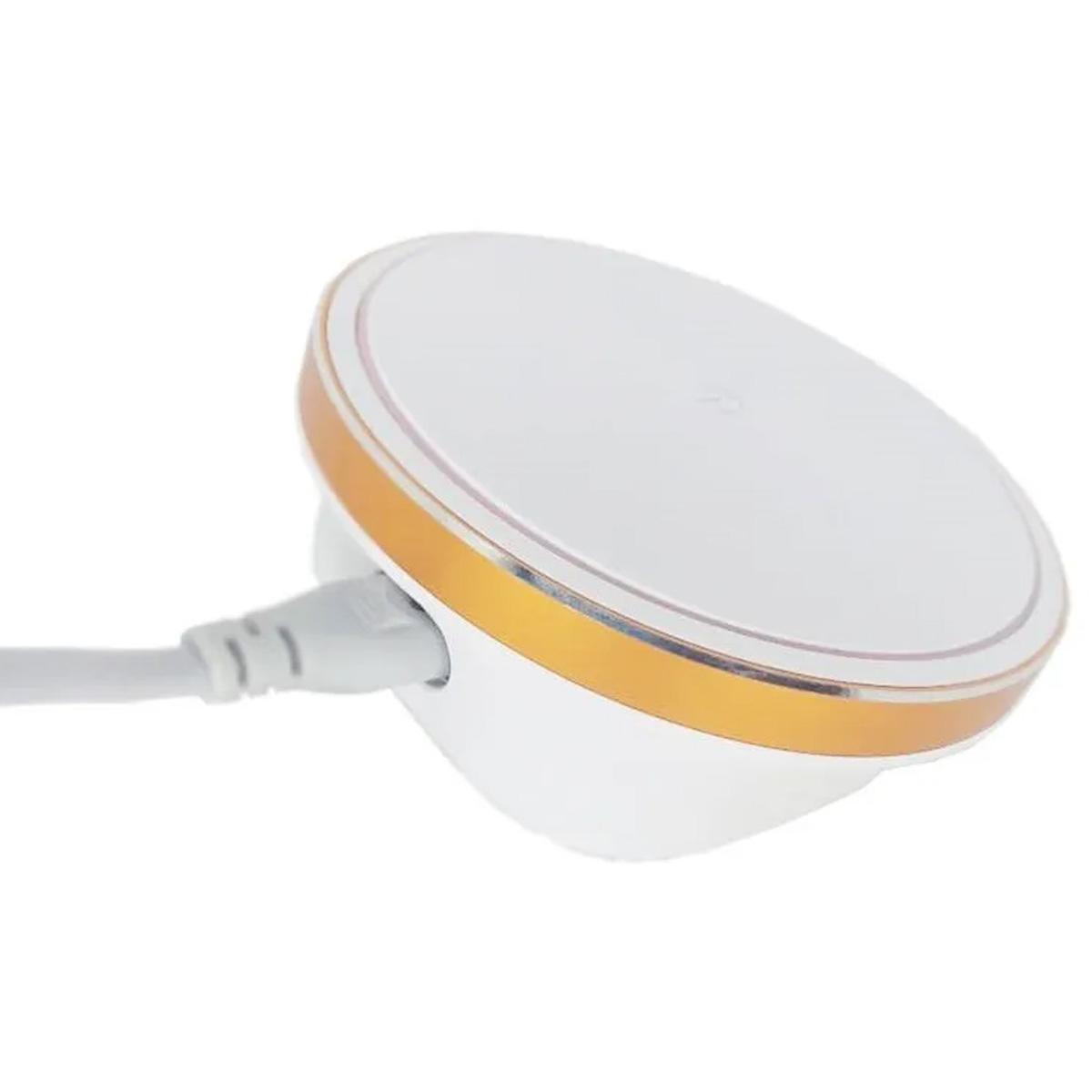 Carregador Rápido de Mesa de 4 USB com Abajour LED Basike