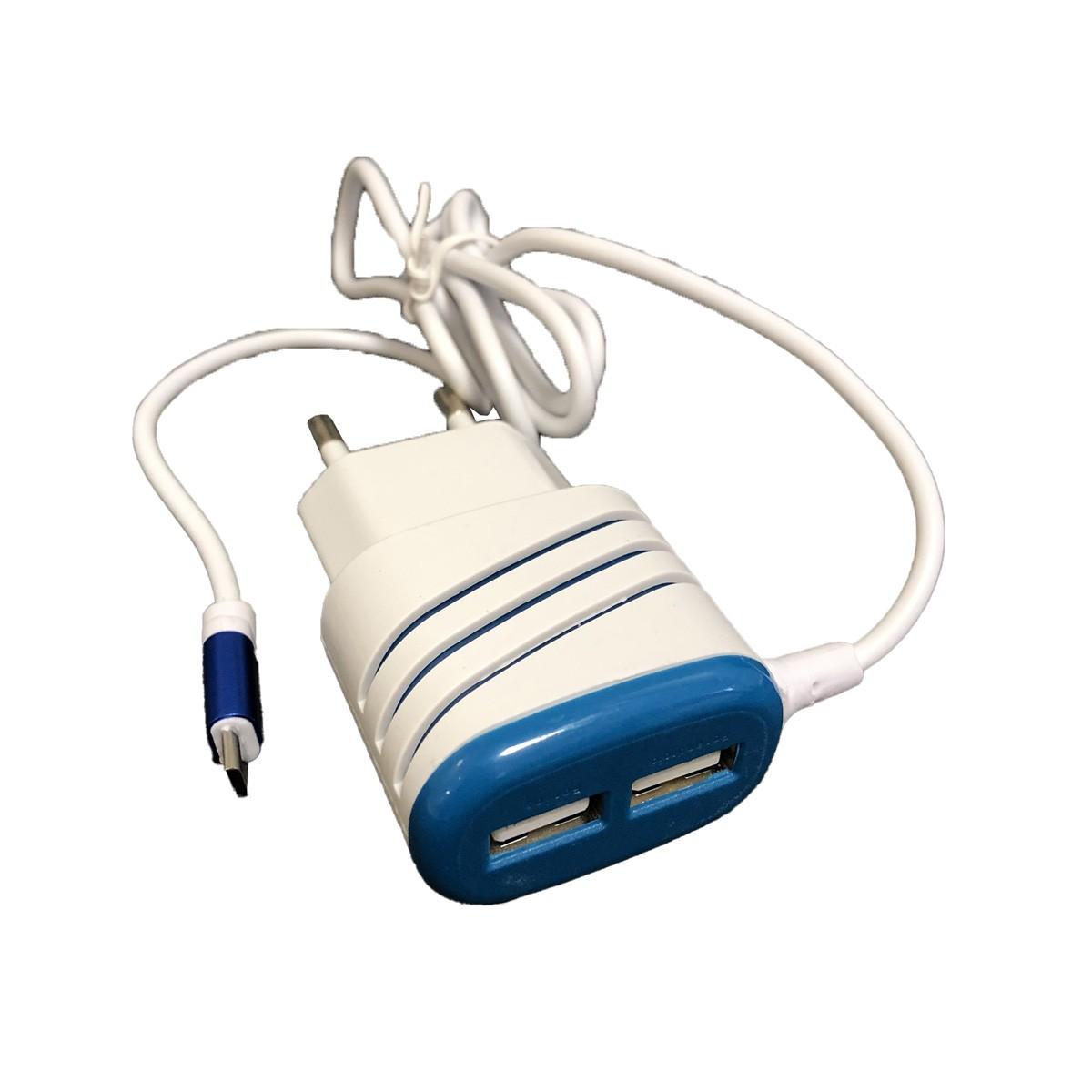 Carregador Rápido Smart V8 com 2x Porta USB 5.1A Original