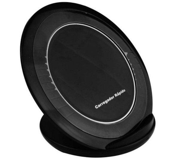 Carregador sem fio wireless Qi para celular smaptphone LT-210 Lotus