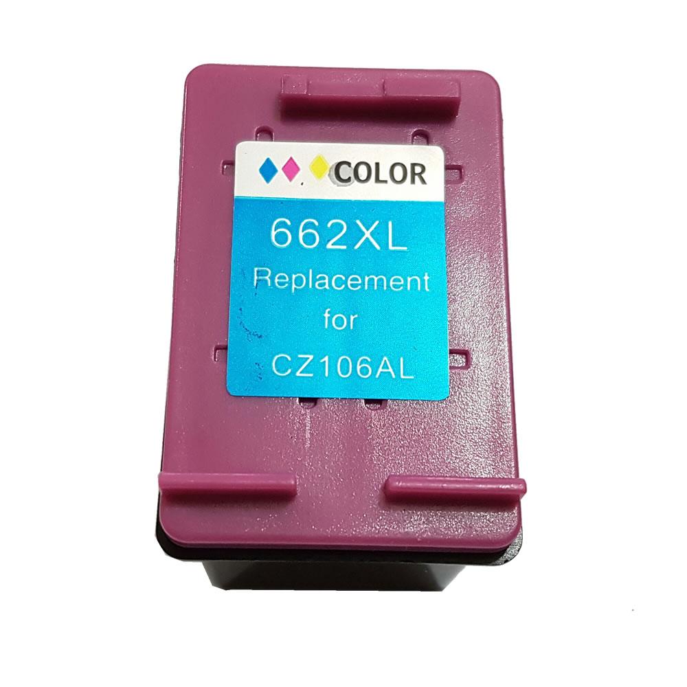 Cartucho HP662 HP 662 662xl colorido para HP 2515 3516 compatível Alto Rendimento 18ml