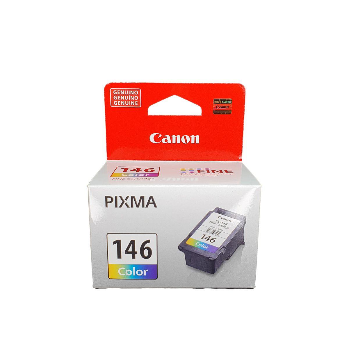 Cartucho Canon CL146 CL-146 Colorido para MG2110 MG3110 MG4110
