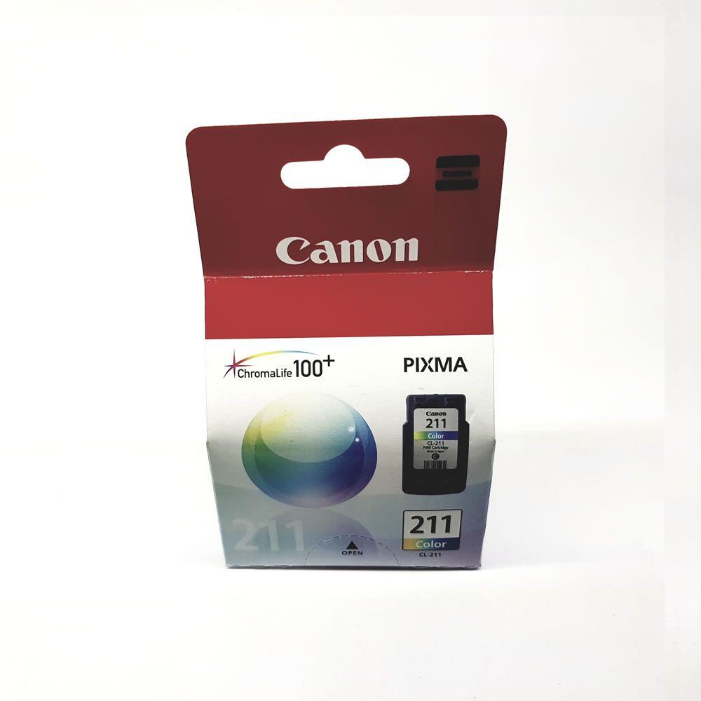 Cartucho Canon CL211 CL 211 Colorido PIXMA MP240 MP250 MP260 MP490 MP480 MX330