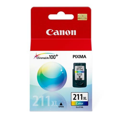 Cartucho Canon CL211xl Colorido para MP240 MP250 MP260 MP490 MP480