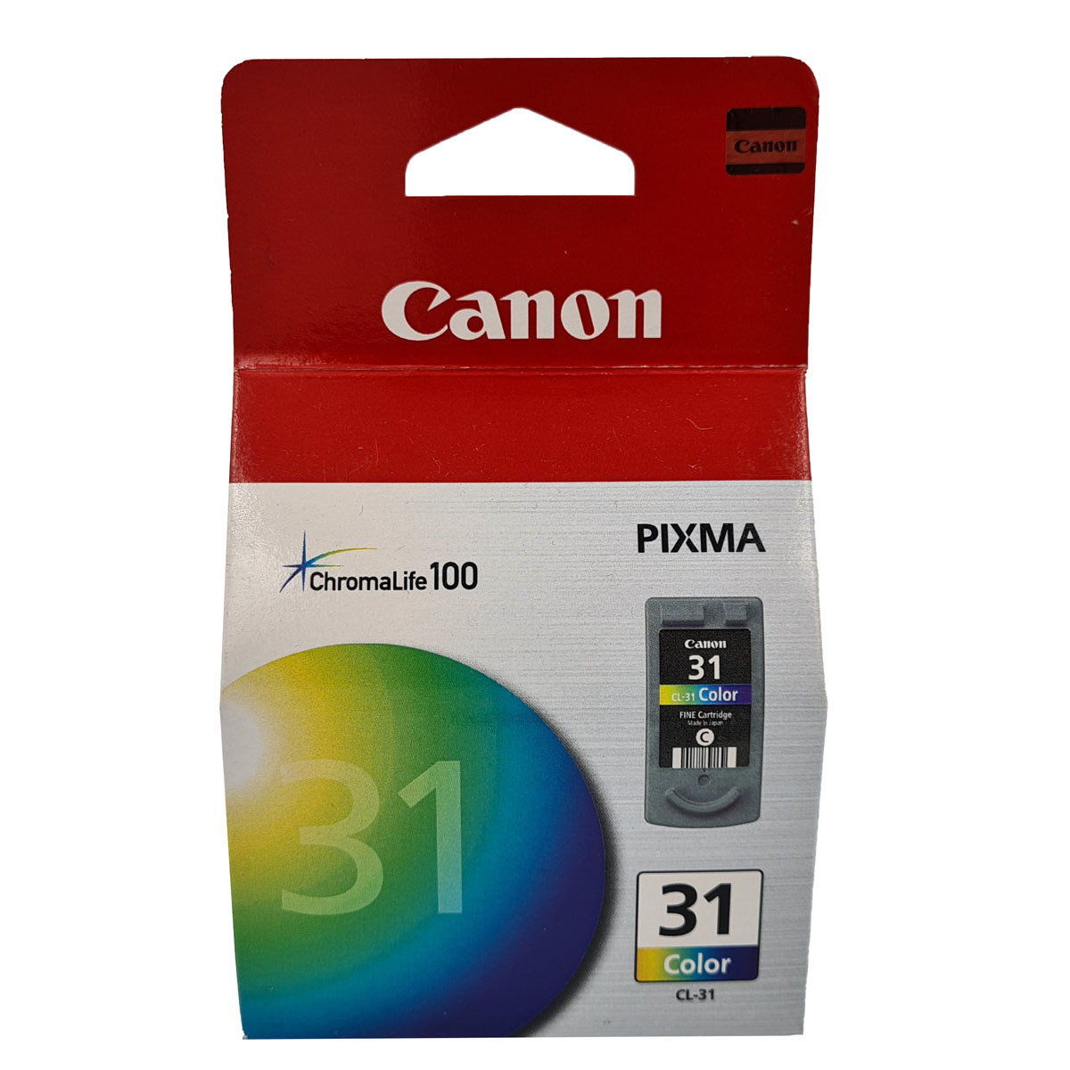 Cartucho Canon CL31 CL 31 Colorido para Pixma IP1800 MP140 MP190