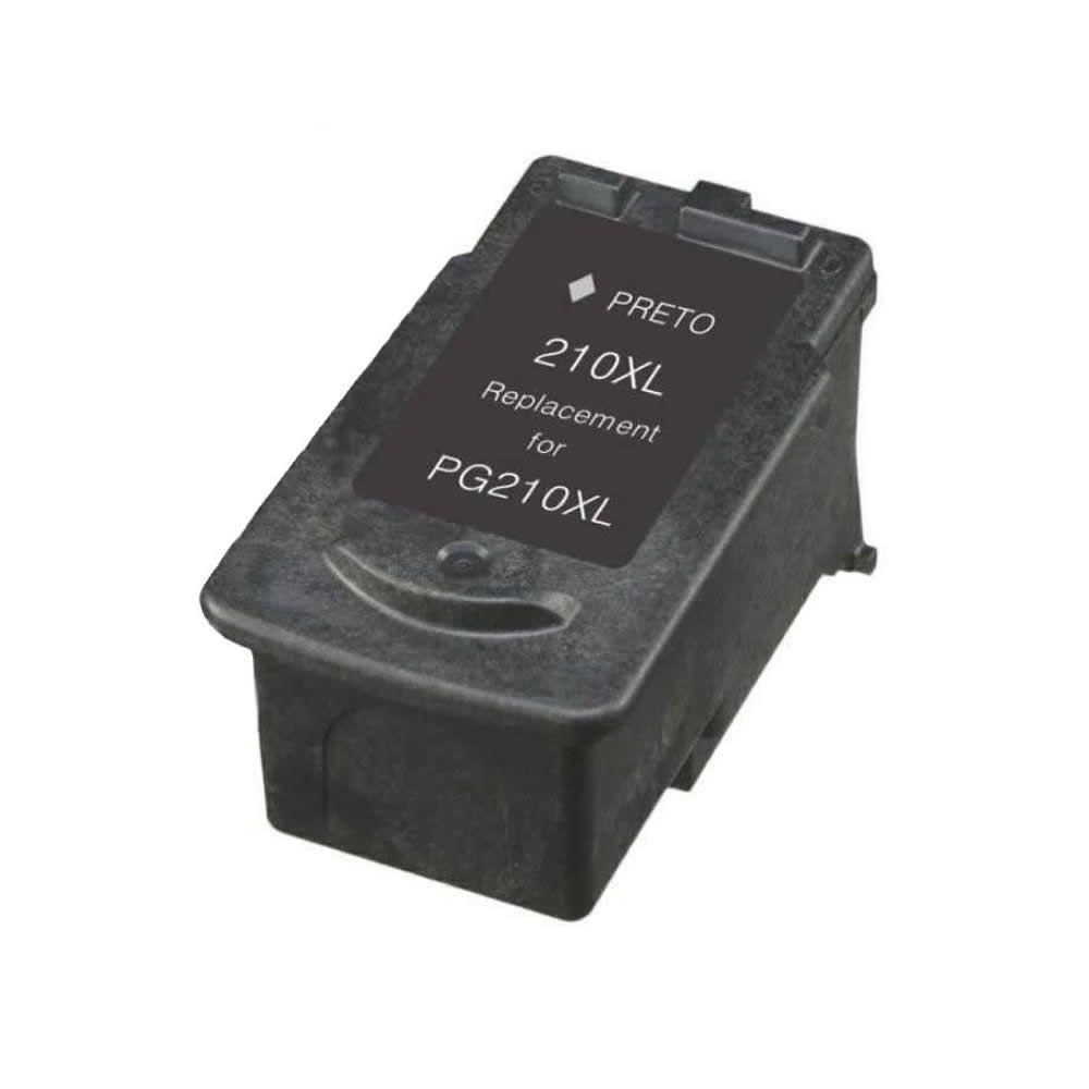 Cartucho Canon PG210xl PG 210XL Preto Compativel Mp240 Mp250 Mp260 Mp270 Mp280 Mp480 Mp490 Mp495