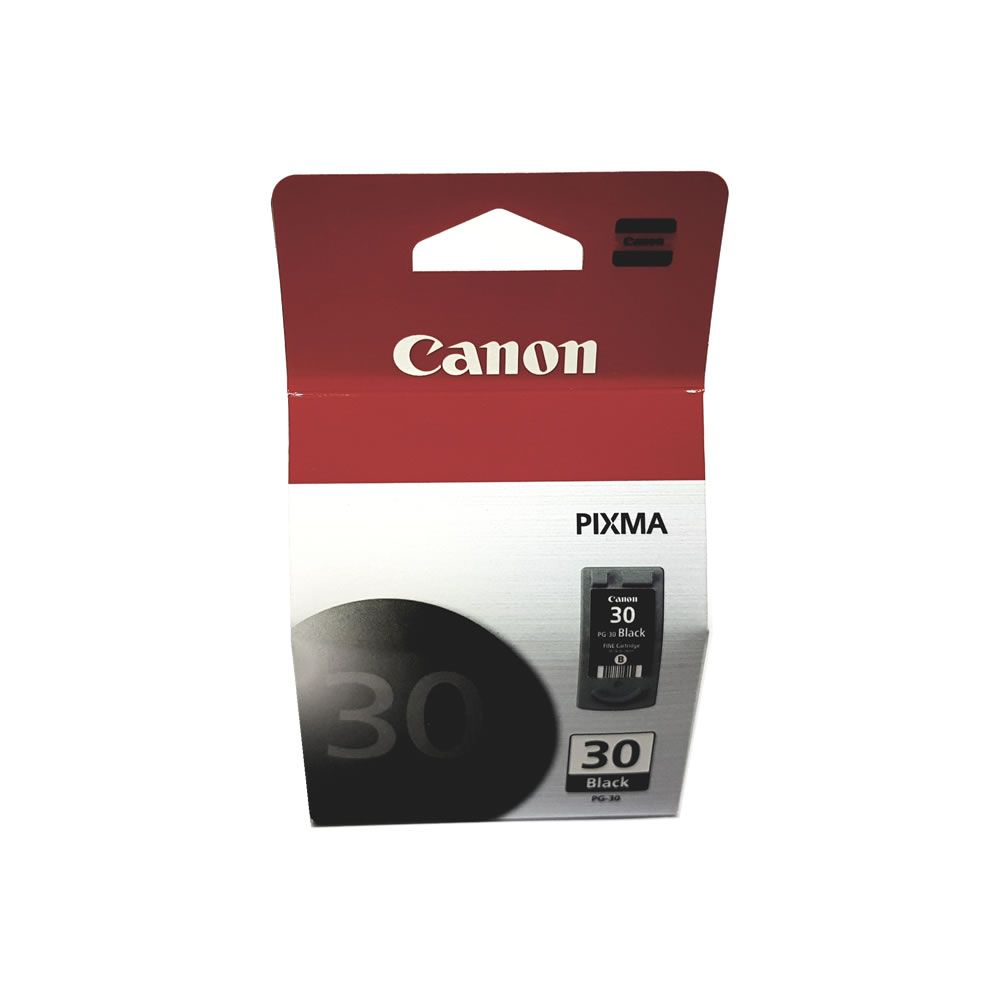 Cartucho PG30 preto original Canon Pixma para IP1800 MP140 MP190