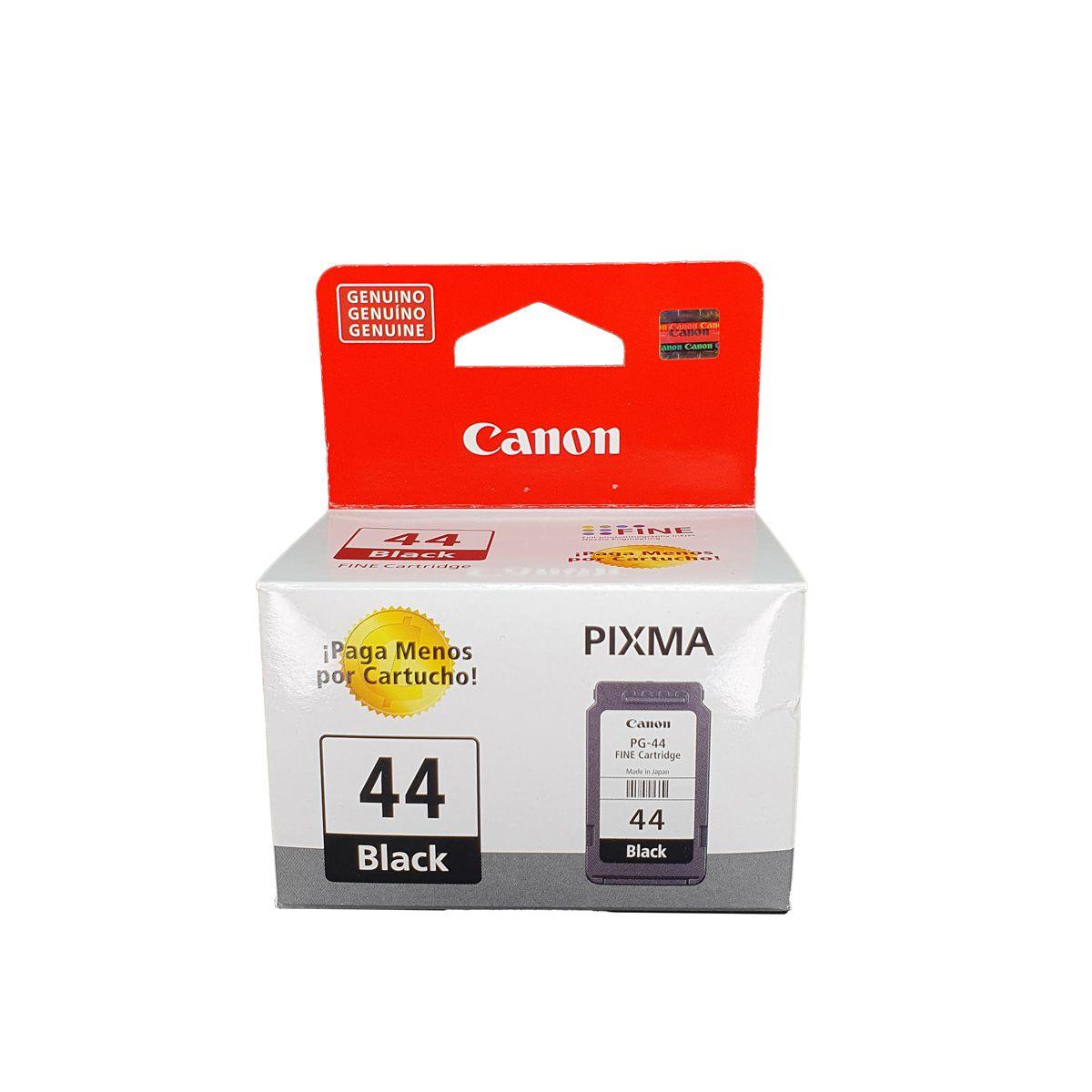 Cartucho Canon PG44 Preto para E401 E461 E481