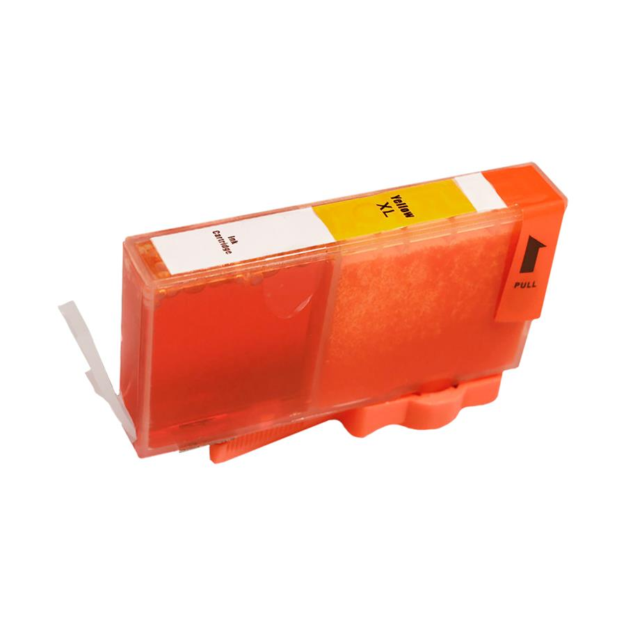 Cartucho Compatível 670 XL 670XL Amarelo 13ml CZ120AB para HP 3525 5525 4615 4625