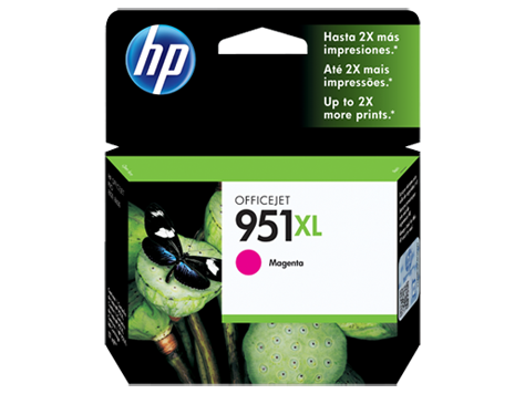 Cartucho HP 951XL Magenta CN047A 17ml para 8100 e 8600