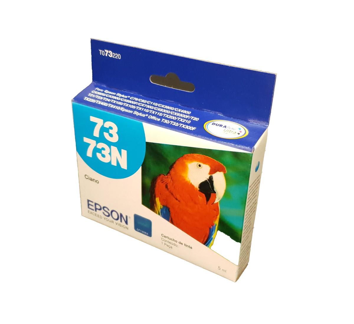 Cartucho EPSON T073220 TO732N TO732 732 Ciano para c79 CX4900 T24 TX105 TX115 T33