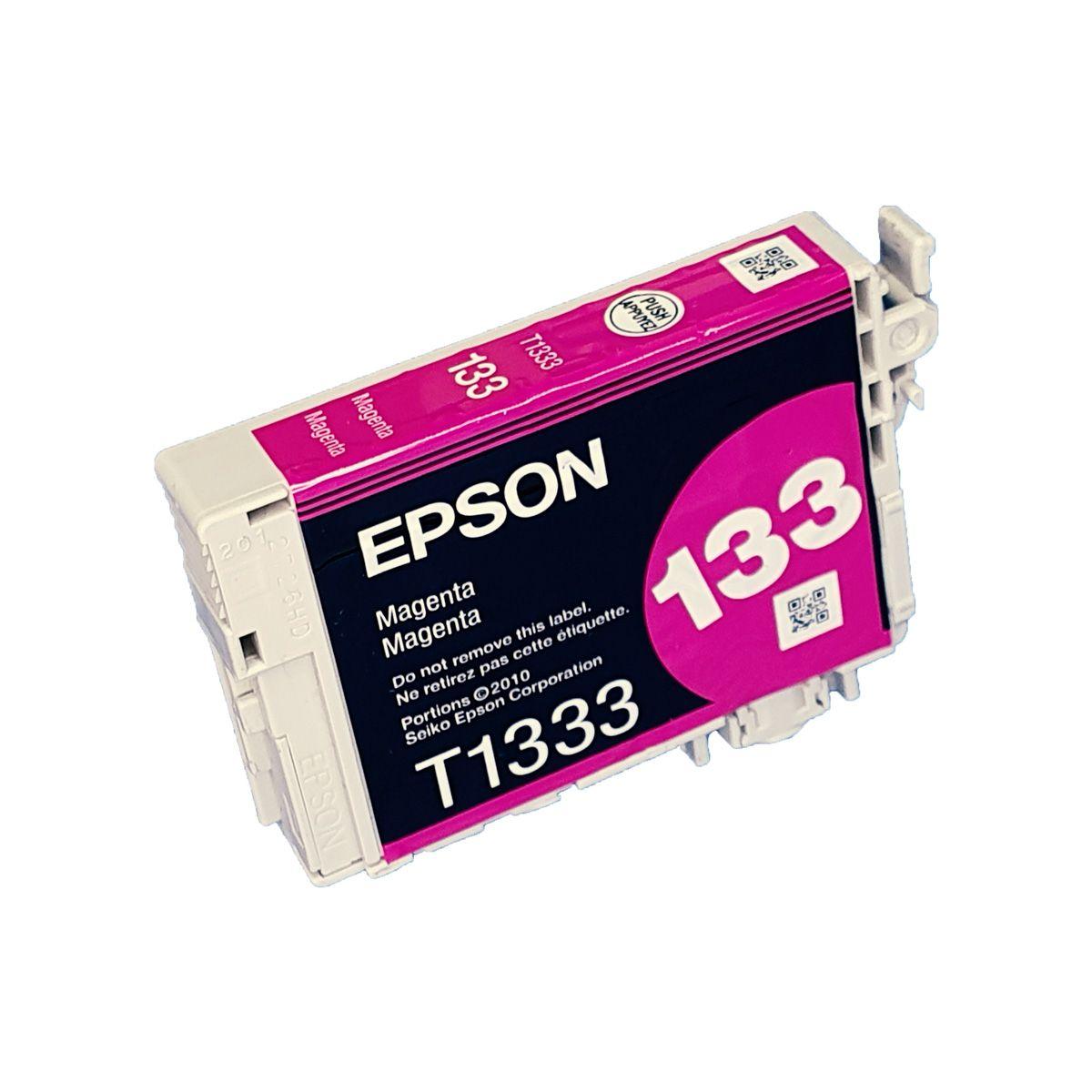 Cartucho EPSON T1333 133 Magenta para TX120 TX123 TX125 TX133 TX135