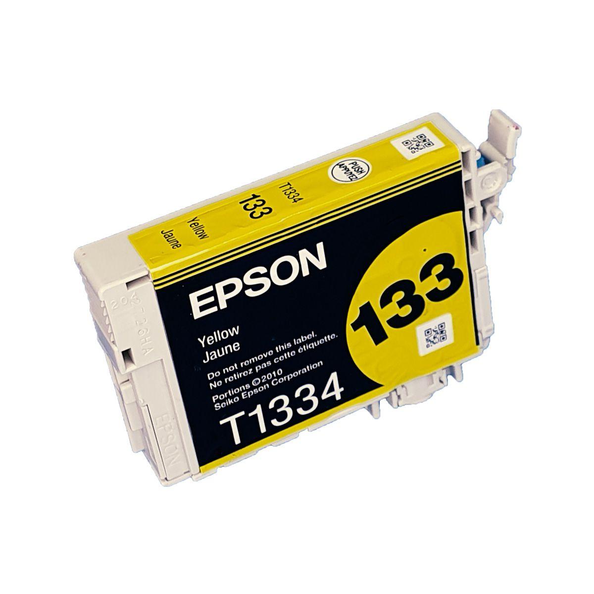 Cartucho EPSON T1334 133 Amarelo para TX120 TX123 TX125 TX133 TX135