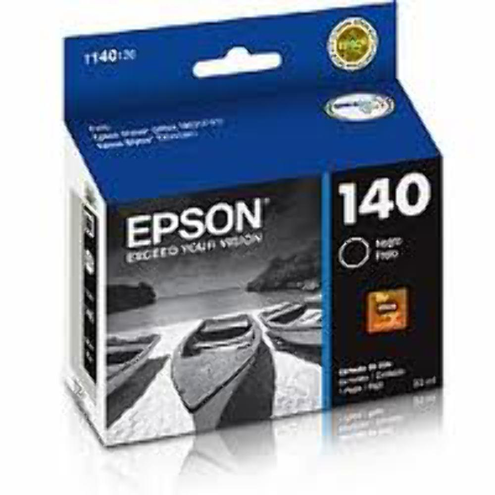 Cartucho EPSON T140 140 Preto para Stylus TX560WD Stylus Office TX620FWD WorkForce T42WD