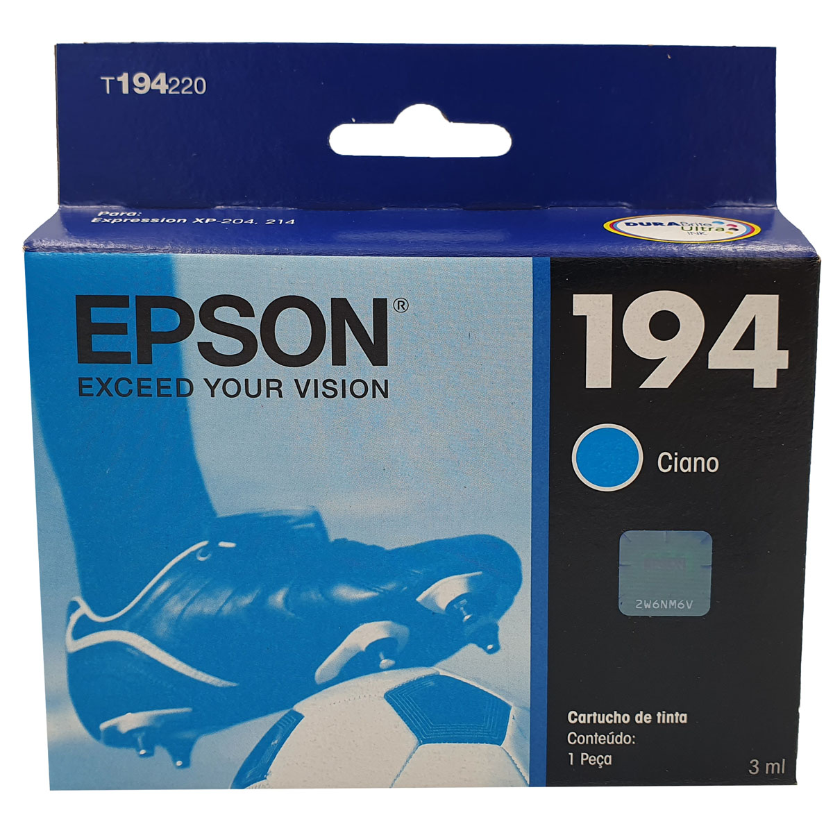 Cartucho EPSON T194220 T194 194 Ciano para XP-104 XP204