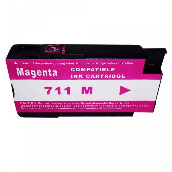 Cartucho MJ Compatível 711XL 711 Magenta 28ml para DESIGNJET T120 T520 da HP