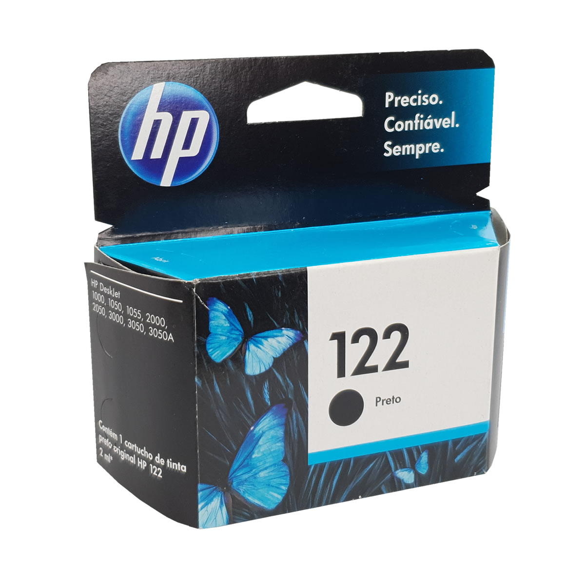 Cartucho HP 122 Preto CH561HE para D1000 D2050 D3050 2050