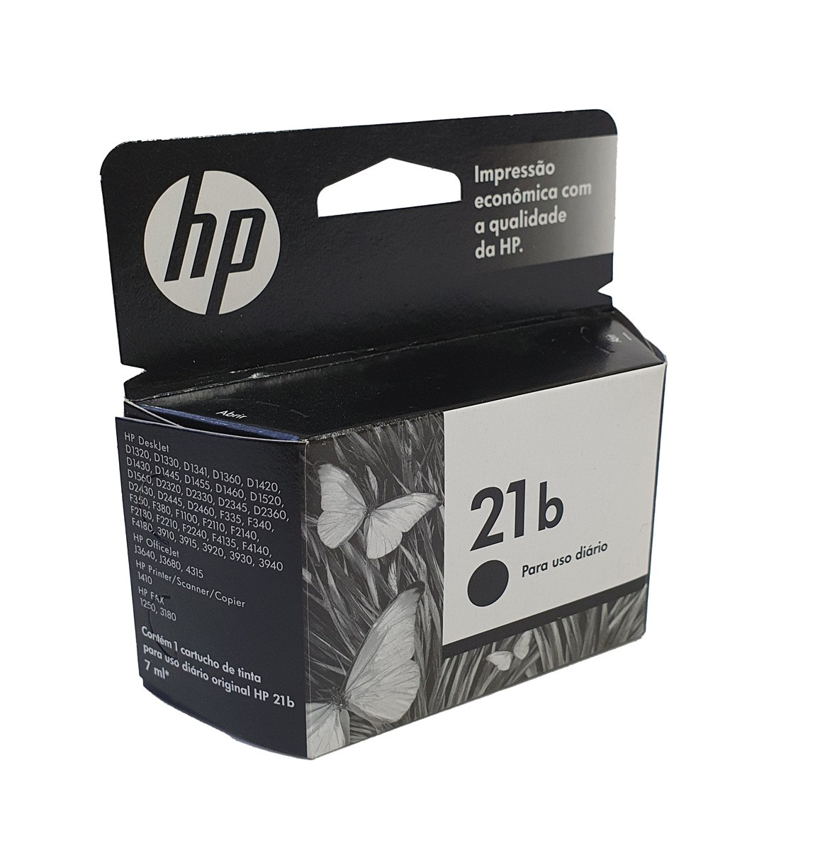 Cartucho HP 21b C9351BB Preto para F4180 D2360 5ml