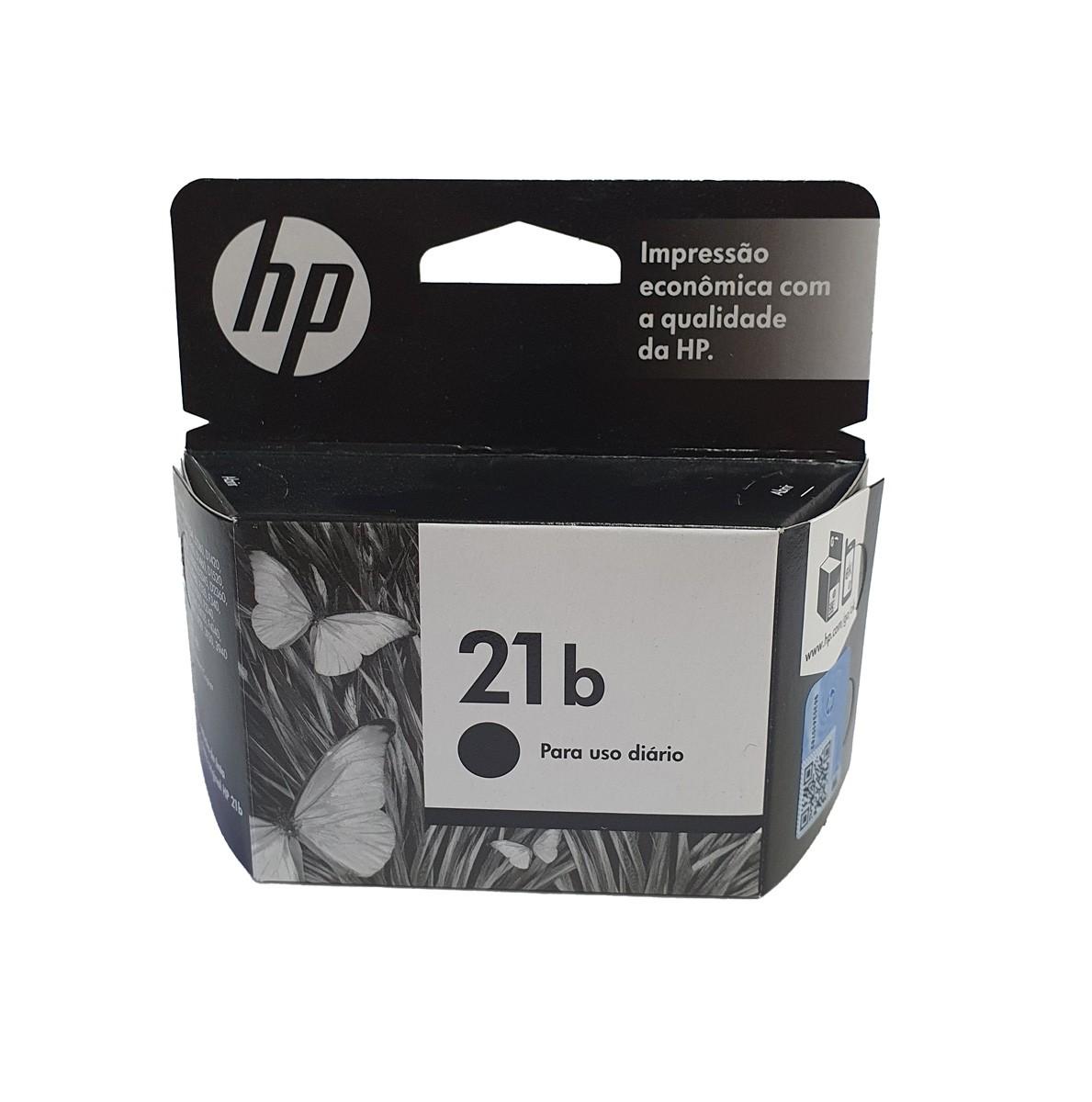 Cartucho HP 21b C9351BB Preto para F4180 D2360 5ml