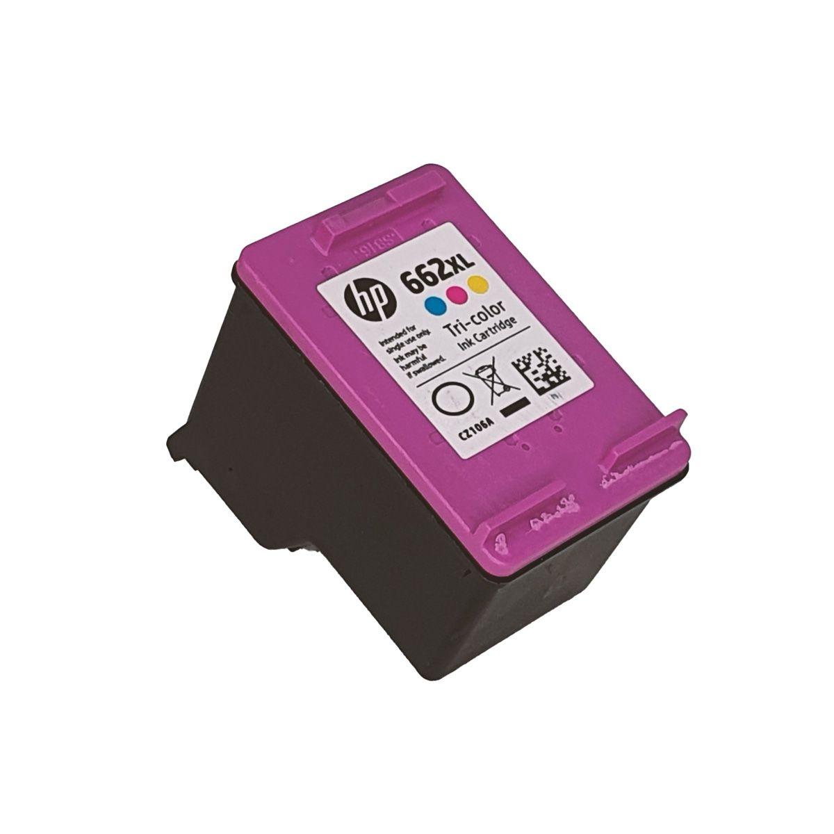 Cartucho HP 662XL Colorido para 2515 2516 3515 3516
