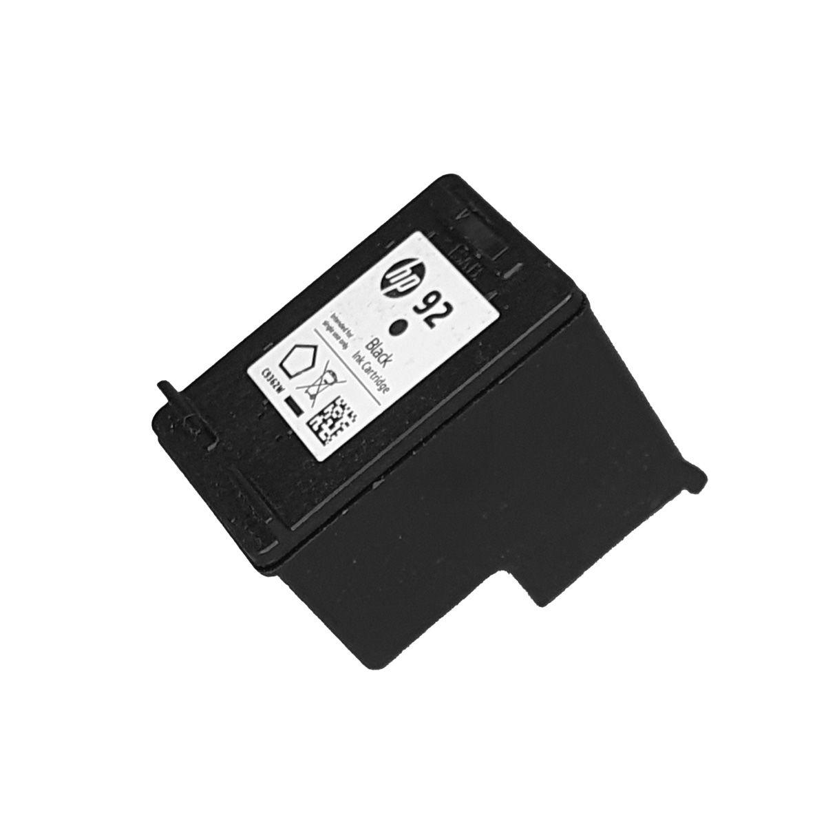 Cartucho HP 92 C9362WL Preto para 1510 c3180 C4180 d5440 psc1500