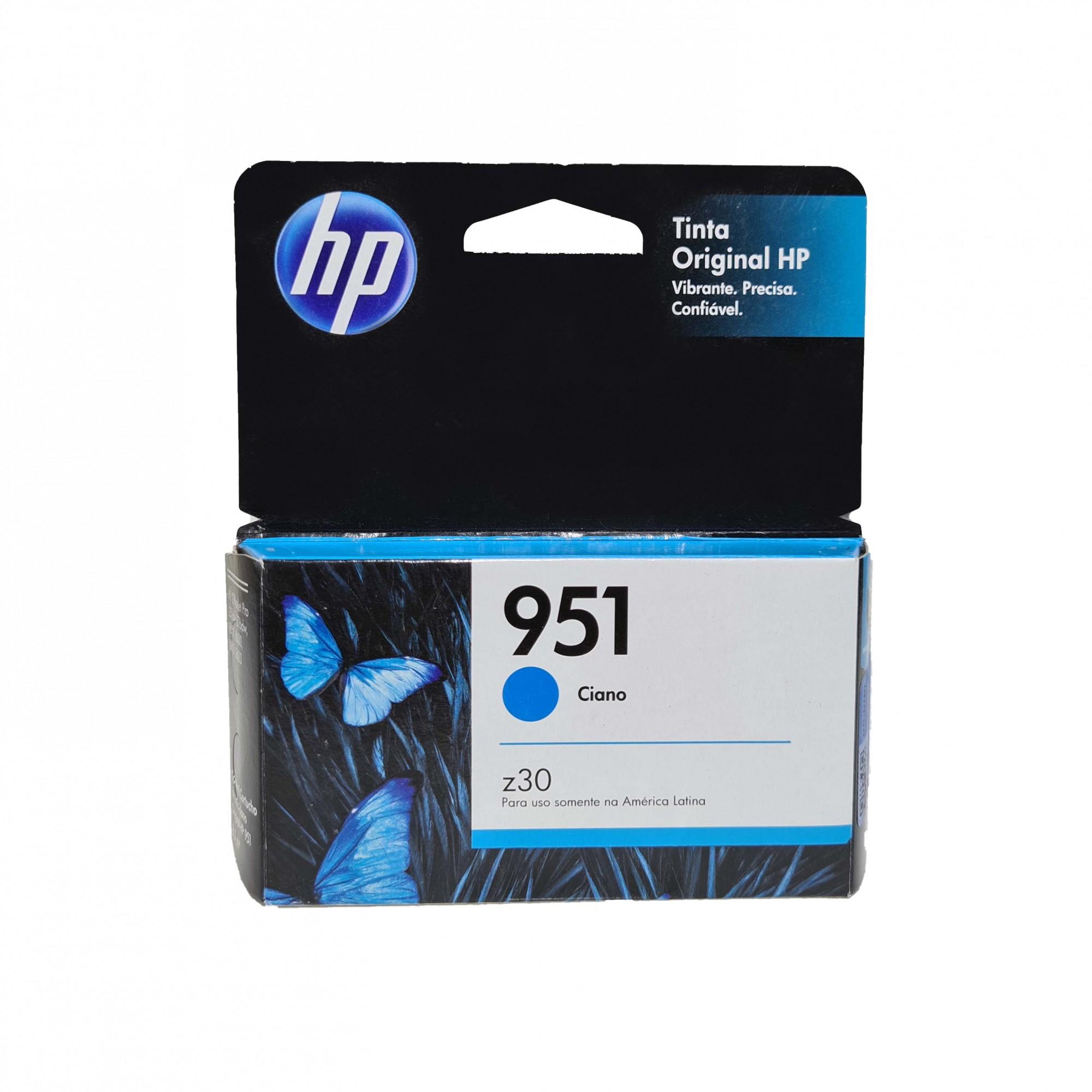Cartucho HP 951 CN050AL Ciano  para 8100 e 8600