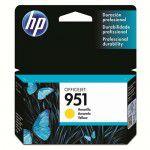 Cartucho HP 951 CN052AL Amarelo para 8100 e 8600
