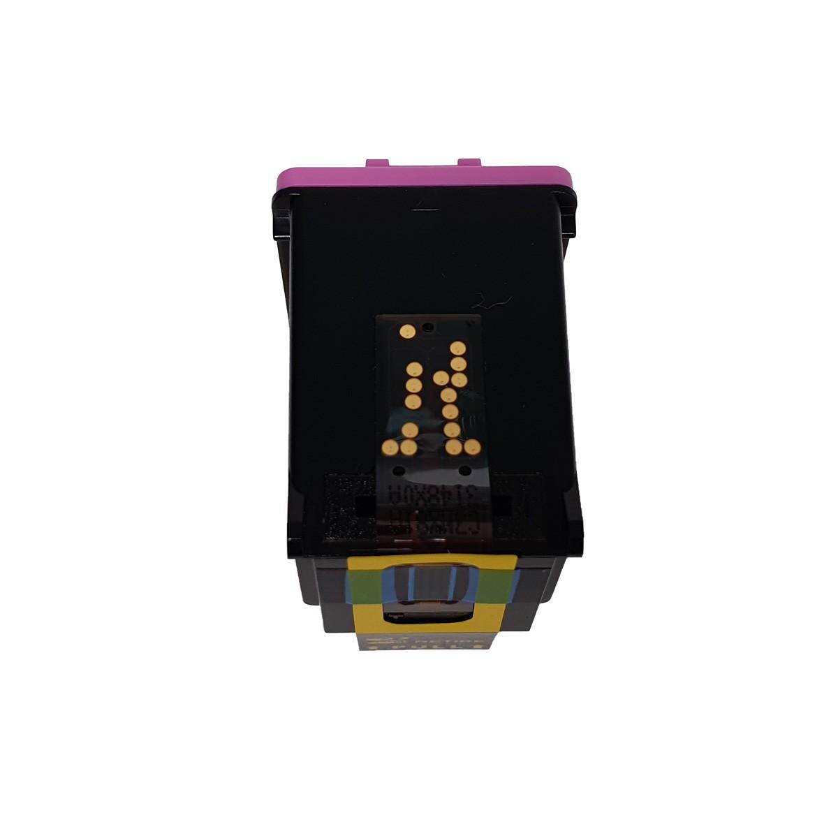 Cartucho MJ Compatível 122XL Colorido 12ml para D1000 D2050 D3050 2050 da HP
