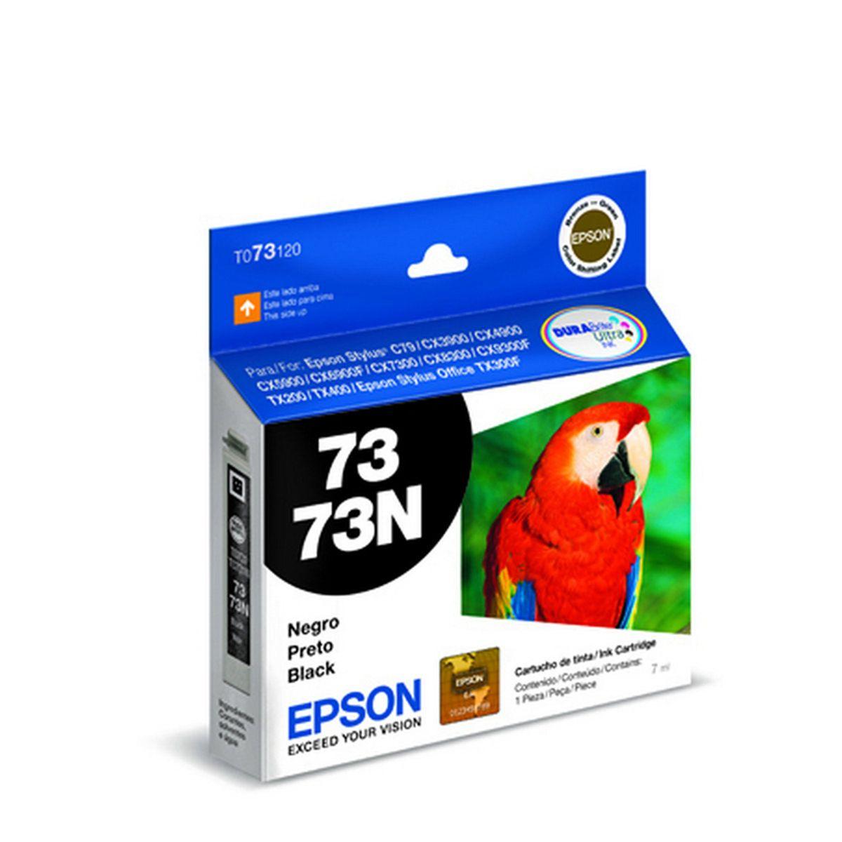 Cartucho Original Epson T073120 TO731 731 Preto para CX4900 c79 cx5900 CX7300