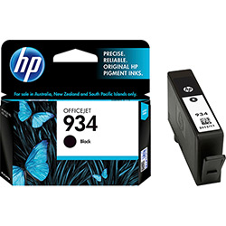 Cartucho Preto HP 934 HP934 C2P19AL Pro 6230 6830 Original