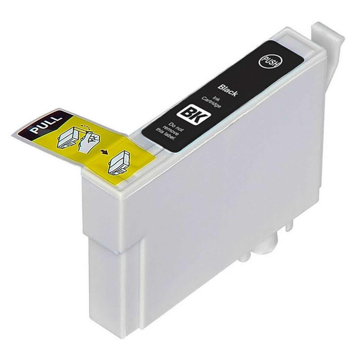 Cartucho TO731N TO73120 731 Preto Compativel para Epson C79 CX3900 CX4900 CX5900