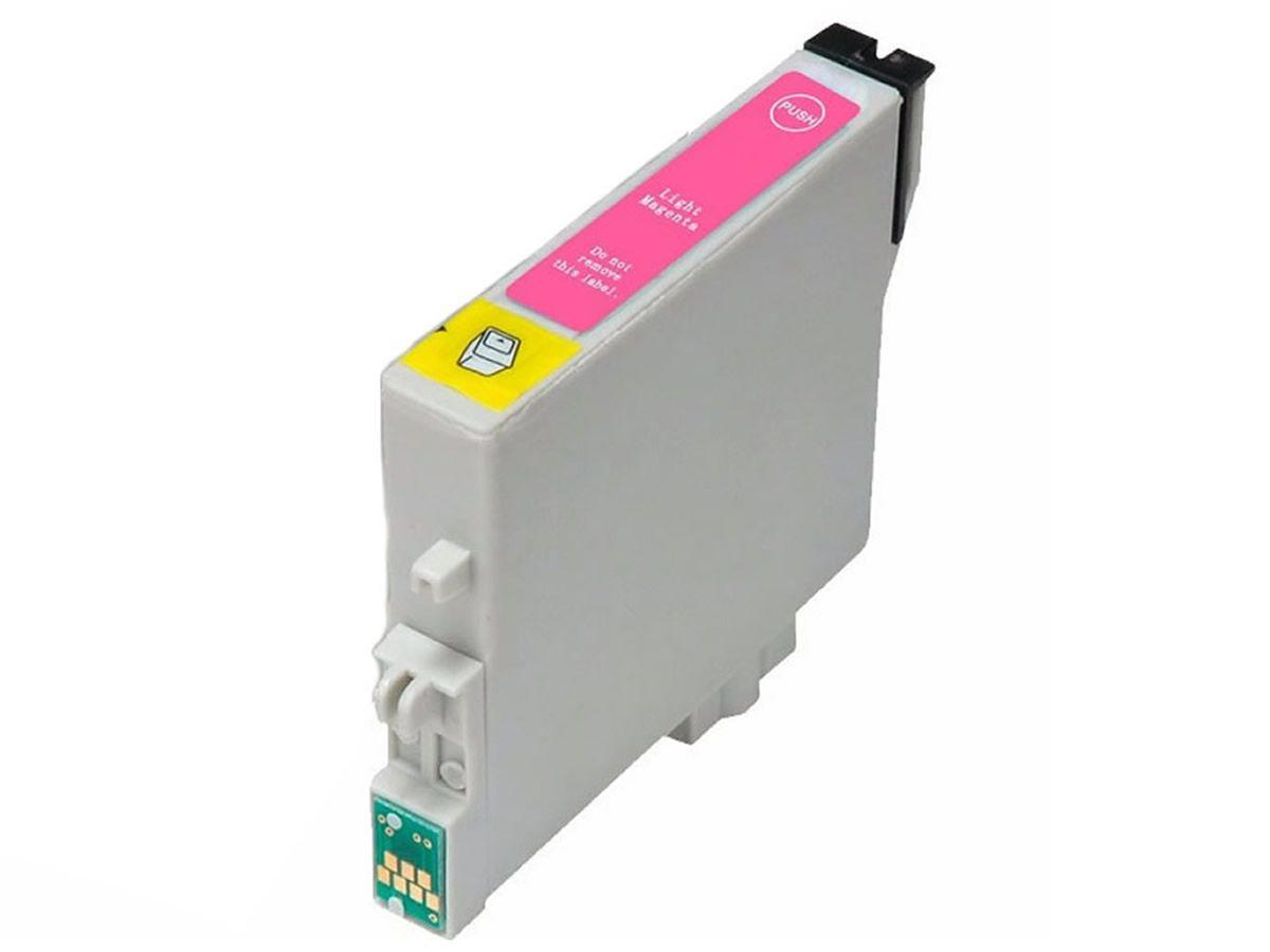 Cartucho TO826 Magenta Light Compatível para Epson T50 R270 R390 RX590