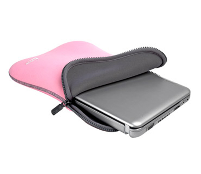 Case para Netbook Tablet até 10pol Dupla Face Rosa e Cinza Leadership 5320